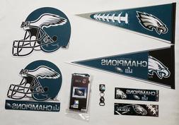 Philadelphia Eagles NFL Pennant Flag Bumper Sticker Bottle O