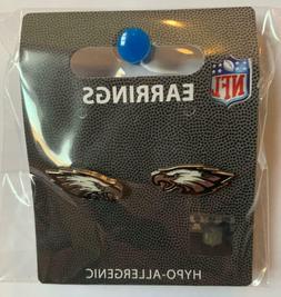 Philadelphia Eagles NFL Post Stud Earrings Charm Logo