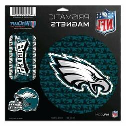 Philadelphia Eagles NFL Prismatic Magnet Sheet Hologram 11x1
