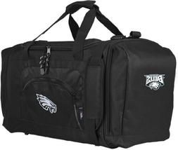 Philadelphia Eagles Premium Embroidered Duffel Bag Black Roa