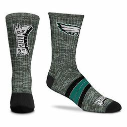 Philadelphia Eagles Quad Promo Men's Crew Socks