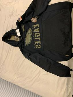 Philadelphia Eagles Salute To Service Hoody STS Hooded Sweat
