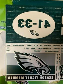 Philadelphia Eagles Season Ticket Gift Fridge Magnets Magnet