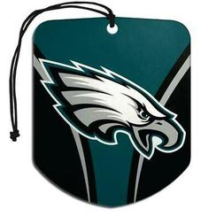 Philadelphia Eagles Shield Design Air Freshener 2 Pack  NFL