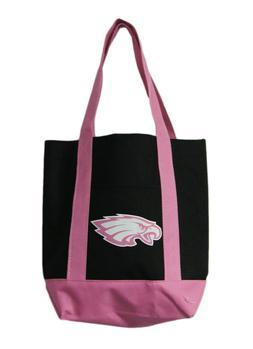 Philadelphia Eagles Small Pink/Black Tote Bag