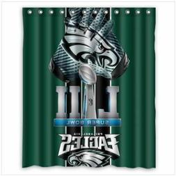 Philadelphia Eagles Super Bowl Bathroom New Shower Curtain R