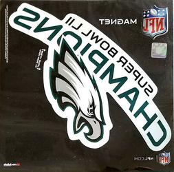 "Philadelphia Eagles Super Bowl Champions SD 12"" Magnet Heavy"