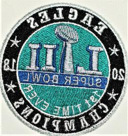 Philadelphia Eagles Superbowl LII  Embroidered Patch-Free Sh