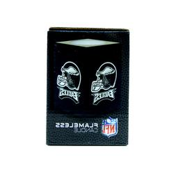 Philadelphia Eagles Team NFL Square Flameless Candle Green N