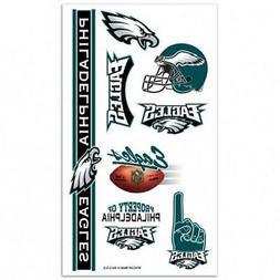 Philadelphia Eagles Temporary Tattoo Sheet  NFL Tattoos Face