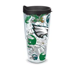 Philadelphia Eagles Tervis Travel Tumbler Mug 24 ounce