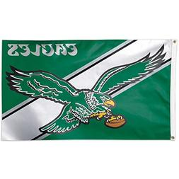 Philadelphia Eagles Throwback Vintage Large Outdoor Flag