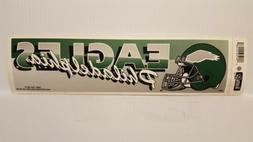 philadelphia eagles vintage team bumper sticker 1990