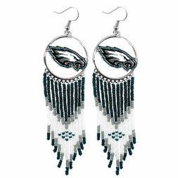 Philadelphia Eagles Women Dreamcatcher Earrings Little Earth