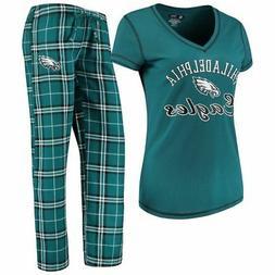 Philadelphia Eagles Women's NFL Duo Shirt And Pants Pajama S