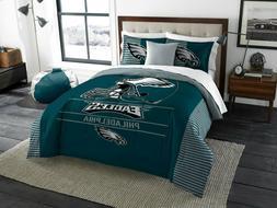 Philidelphia Eagles King Size Bedding Set