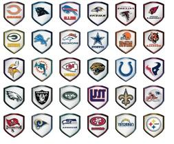 NFL Reflector Shield Decal for Car, Truck, Mailbox or Locker