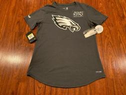 Nike Women's Philadelphia Eagles Crucial Catch Tri Blend J